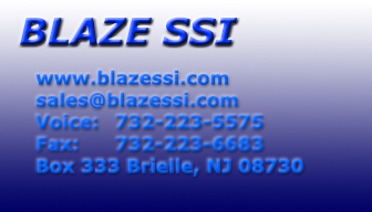 Tech Support Email:help@blazessi.com Marketing Email: sales@blazessi.com